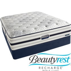 Beautyrest Recharge World Class Rekindle Luxury Firm Cal King-size Mattress Set