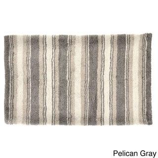 Tommy Bahama Breeze Stripe Cotton 21 x 34 Bath Rug