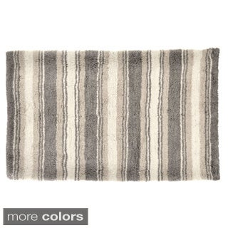 Tommy Bahama Breeze Stripe Cotton 21 x 34 Bath Rug