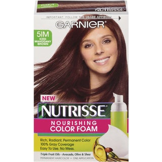 Garnier Nutrisse Iced Mahogany Brown 51M Nourishing Color Foam