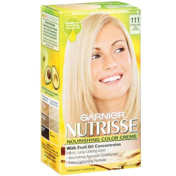 Garnier Nutrisse Extra Light Ash Blonde 111 Nourishing Color Creme  Overstoc