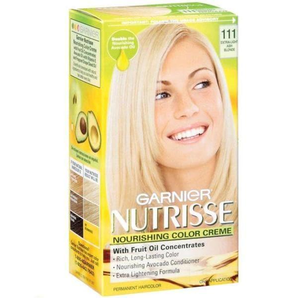 Garnier Nutrisse Extra Light Ash Blonde 111 Nourishing Color Creme