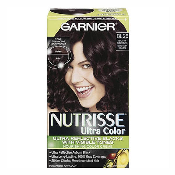 Garnier Nutrisse Ultra Color BL26 Reflective Auburn Black Hair Color