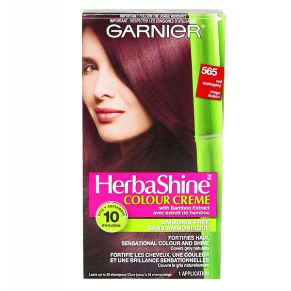 Garnier HerbaShine Medium Auburn Brown 565 Hair Color Creme