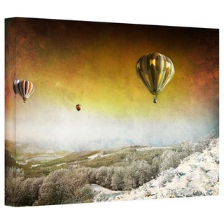 Dragos Dumitrascu 'Winter Lands II' Gallery-wrapped Canvas Art