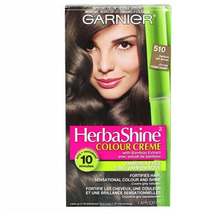 Garnier HerbaShine Medium Ash Brown 510 Color Creme