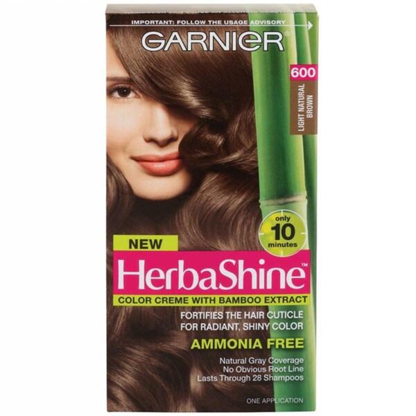 Garnier HerbaShine Light Natural Brown 600 Hair Color Creme