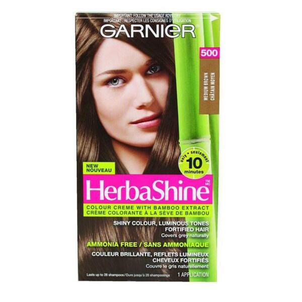 Garnier HerbaShine Medium Natural Brown 500 Hair Color Creme