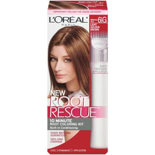 L'Oreal Root Rescue Light Golden Brown Root Coloring Kit