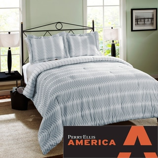 Perry Ellis Kenny 3-piece Comforter Set