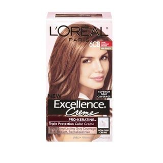 L'Oreal Excellence Creme Light Chestnut Brown 6CB Hair Color
