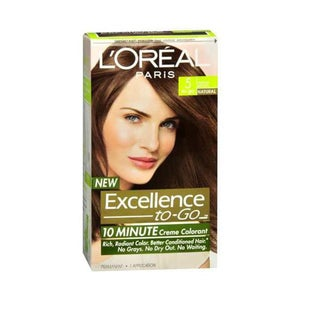 L'Oreal Excellence-to-Go 10 Minute Creme Colorant Medium Brown #5 Hair Color
