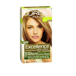L'Oreal Excellence-to-Go 10 Minute Creme Colorant Dark Blonde #7 Hair Color