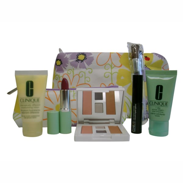 Clinique 9-Piece Travel Set with Two Cosmetic Bags