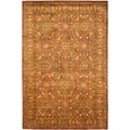 Safavieh Hand-made Antiquity Copper/ Gold Wool Rug (6' x 9')