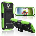 Basacc Green Skin/ Black Hard Hybrid Case For Samsung Galaxy S4