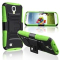Basacc Green Skin/ Black Hard Hybrid Case For Samsung� Galaxy S4