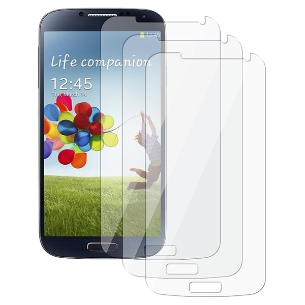 INSTEN Clear Screen Protectors for Samsung Galaxy S IV/ S4 (Pack Of 6)