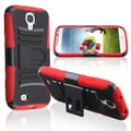 Basacc Red Skin/ Black Hard Hybrid Case For Samsung� Galaxy S4