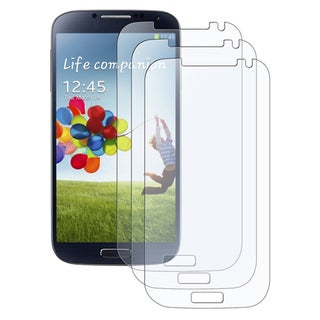 Basacc Anti-Glare Screen Protectors For Samsung� Galaxy S IV/ S4 (Pack Of 3)
