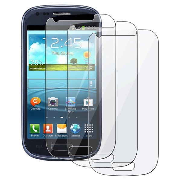 INSTEN Clear Screen Protectors for Samsung Galaxy S3 Mini I8190 (Pack Of 3)