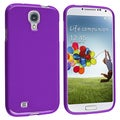 Basacc Purple Jelly TPU Rubber Skin Case For Samsung Galaxy S4