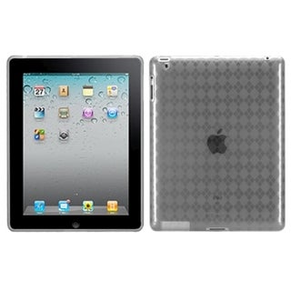 BasAcc T-Clear Argyle Candy Skin Case for New Apple iPad