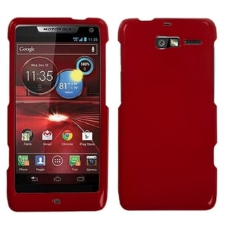 BasAcc Solid Red Case for Motorola XT907 Droid Razr M