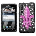 BasAcc Royal Seal Diamante Case for Motorola XT862 Droid 3