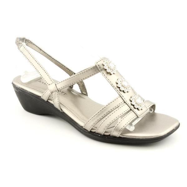 Karen Scott Women's 'Davis' Faux Leather Sandals