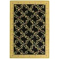 "Safavieh Handmade Berkley Contemporary Multi Floral Wool Rug (5'3"" x 8'3"")"