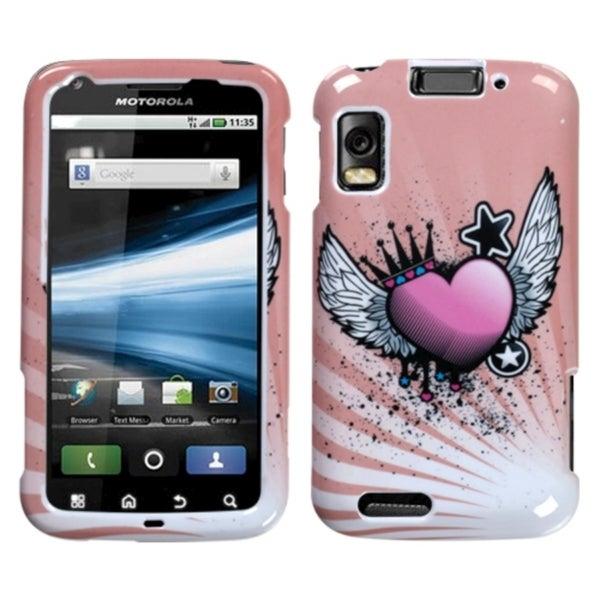 BasAcc Crowned Heart Case for Motorola MB860 Olympus/ Atrix 4G