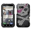 BasAcc Skull Diamante Case for Motorola MB525 Defy