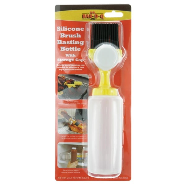 Mr. Bar-B-Q Silicone Basting Bottle with Cap
