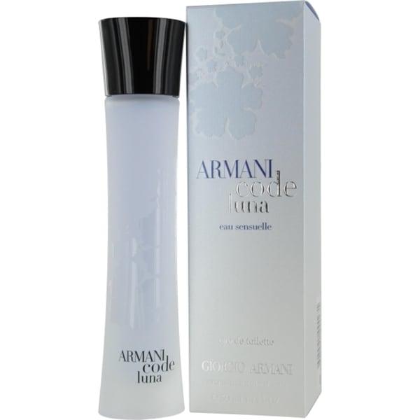 Giorgio Armani Code Luna Women's 1.7-ounce Eau de Toilette Sensuelle Spray