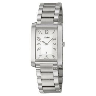 Coach Men's 'Collection' Stainless Steel Swiss Quartz Watch