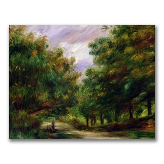 Pierre Renoir 'The Road near Cagnes' Canvas Art
