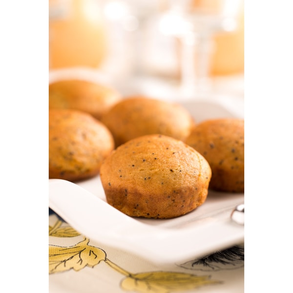 Lucky Spoon Gluten Free Bakery Lemonlicious Poppy Seed Muffins