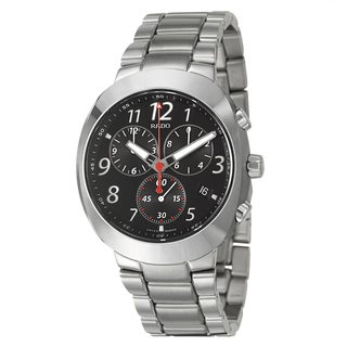 Rado Men's 'D-Star' CeramicComposite Swiss Quartz Watch