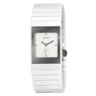 Rado Women's 'Ceramica' Ceramic Swiss Quartz Watch