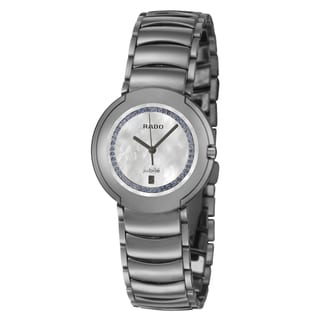 Rado Women's 'Coupole' Stainless Steel Swiss Quartz Watch