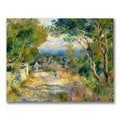 Pierre Renoir 'L'Estaque 1882' Canvas Art