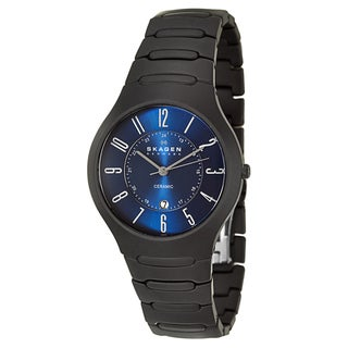 Skagen Men's 'Ceramic' Quartz Watch