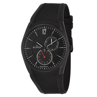 Skagen Men's 'Titanium' Black Titanium Watch