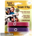 Baby Buddy Secure-A-Toy Adjustable Secure Straps (Pack of 2)