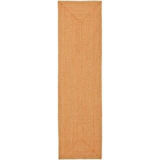 Safavieh Reversible Braided Multi Cotton Runner Rug (2'3 x 10')