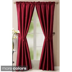 Lincoln 84-inch Solid Curtain Panel Pair