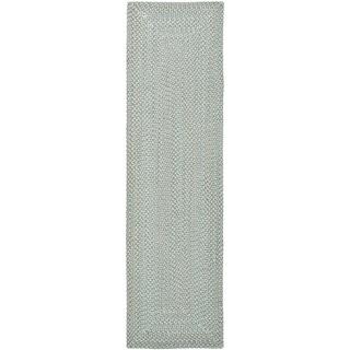Safavieh Grey Reversible Braided Multi Cotton Rug (2'3 x 6')