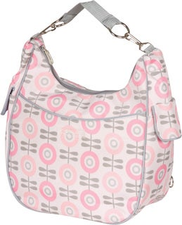The Bumble Collection Chloe Convertible Diaper Bag in Modern Floral