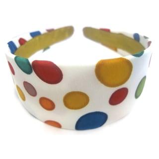 Crawford Corner Shop Retro Multi Color Circles Headband